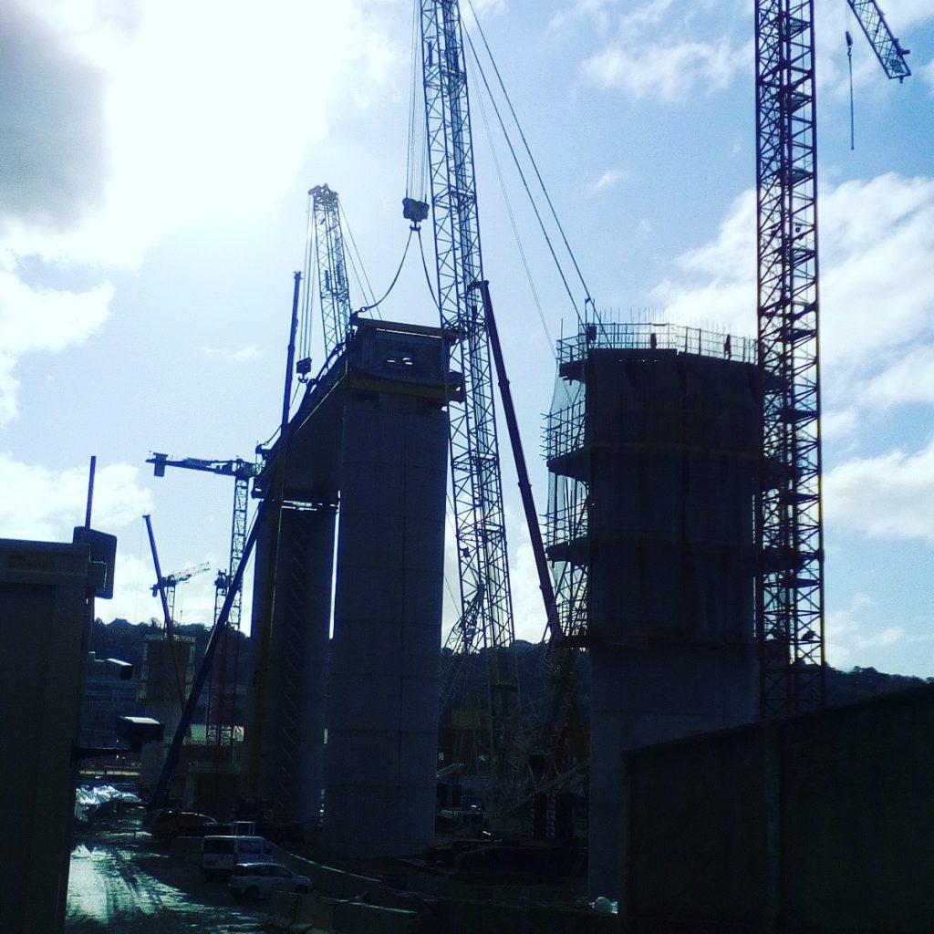 Il nuovo ponte morandi